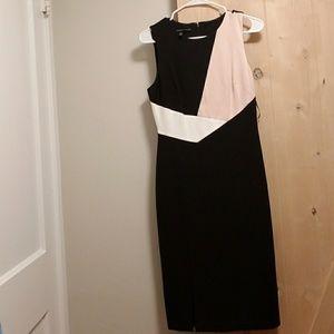 White House Black Market knee length dress